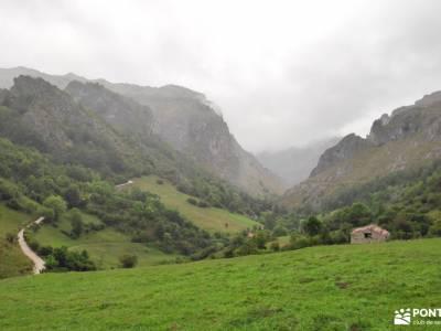 Corazón de Picos de Europa;los arrudos selva oza sierras subbeticas sendero rio borosa sinonimo de